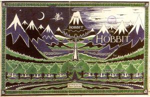 HobbitTolkienOriginalCoverIllustration