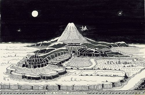 TolkienHobbitThe-Lonely-Mountain