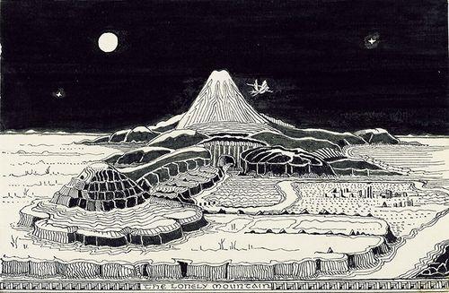 TolkienHobbitThe-Lonely-Mountain