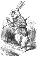 AliceWhite Rabbit_John_Tenniel_02
