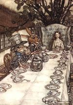 ArthurRackhamAliceTeaParty