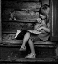 ReadingBookGirl