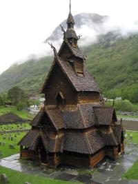 NorwayViking-ArchitectureBorgundStaveChurch