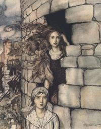 Maid Maleen Grimms Arthur Rackham