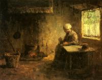 PeasantInterior Jozef Israels