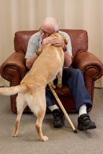 VeteranandhisService Dog
