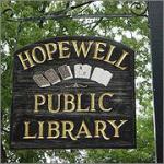 LibrarySignHopewell-oldsign