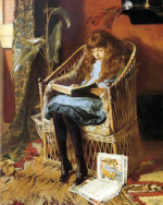 GirlReadingCatherineMcSherry