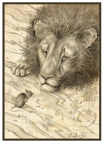 Lion and the mouse Sophie Lees