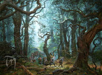 Hobbit-mirkwood Ted Nasmith cropped