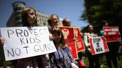 Protest gun-violence  kids