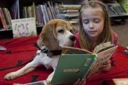Reading with rover Seattle Puget Sound