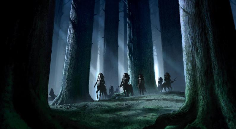 Forbidden ForestCentaurs