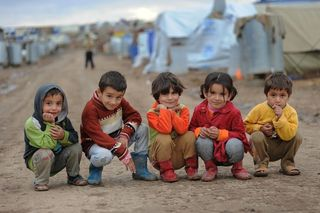 5Kids in CampDuhok-Domiz 161