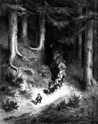 TomThumb Pebbles Woods Gustav Dore