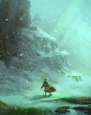 Frozen Pass Wizard of earthsea Alexander Sparks