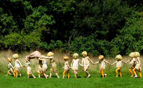 Chagford filmaking Group peerifolk_procession_