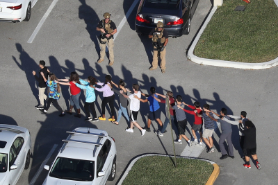 Stoneman School Florida Sudents Joe Raedle Getty