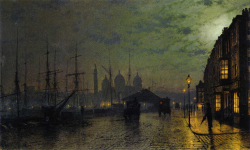 Princess Dock Hull John Atkinson Grimshaw