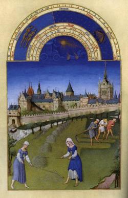 Tres Riches Heures du Duc de Bery 15th century