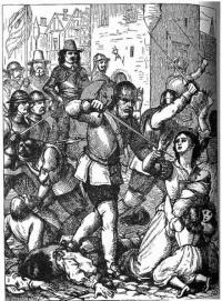 Massacre_at_Drogheda.EngCivilWar17thCent