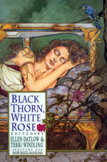 Black thorn white rose