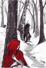 Red ridding hood Angela