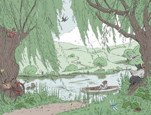 RiverBank-by Kij IllusKathleen Jennings