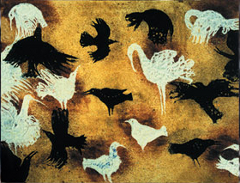 White Birds Black Birds Florence Miailhe