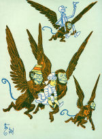 Flying-monkeys-from-the-wizard-of-oz-william-wallace-denslow