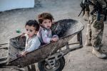 Afghanistan kids wheelbarrow Ben Brody
