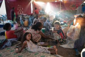 Ethiopian Refugees  Hamdayet Tyler Hicks NYT