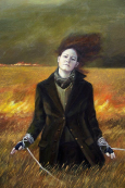 Kowch Woman Dakk coat Field fire