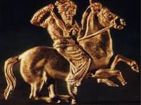 Scythian tomb art