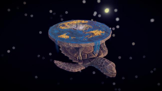 Discworld turtle and all Jacob Proszowski